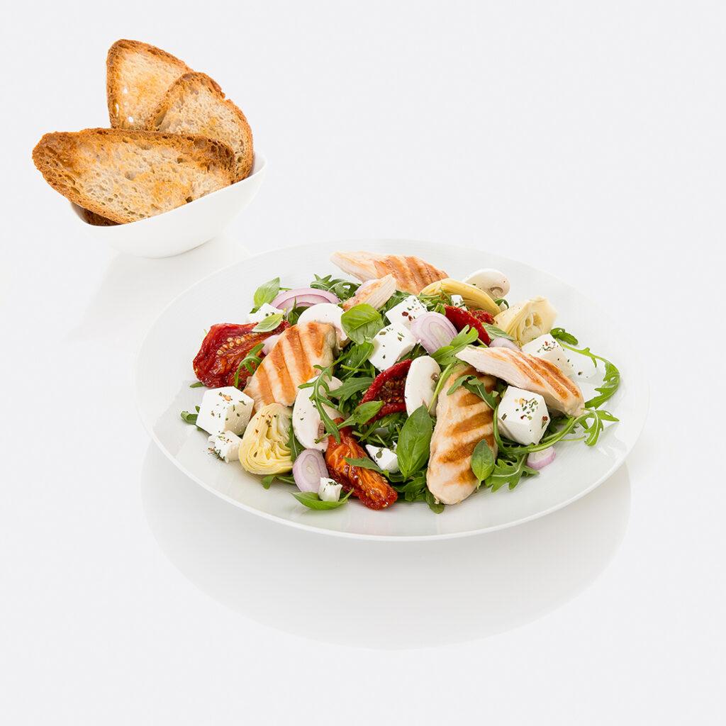 Chicken Feta Salad by Tanmia