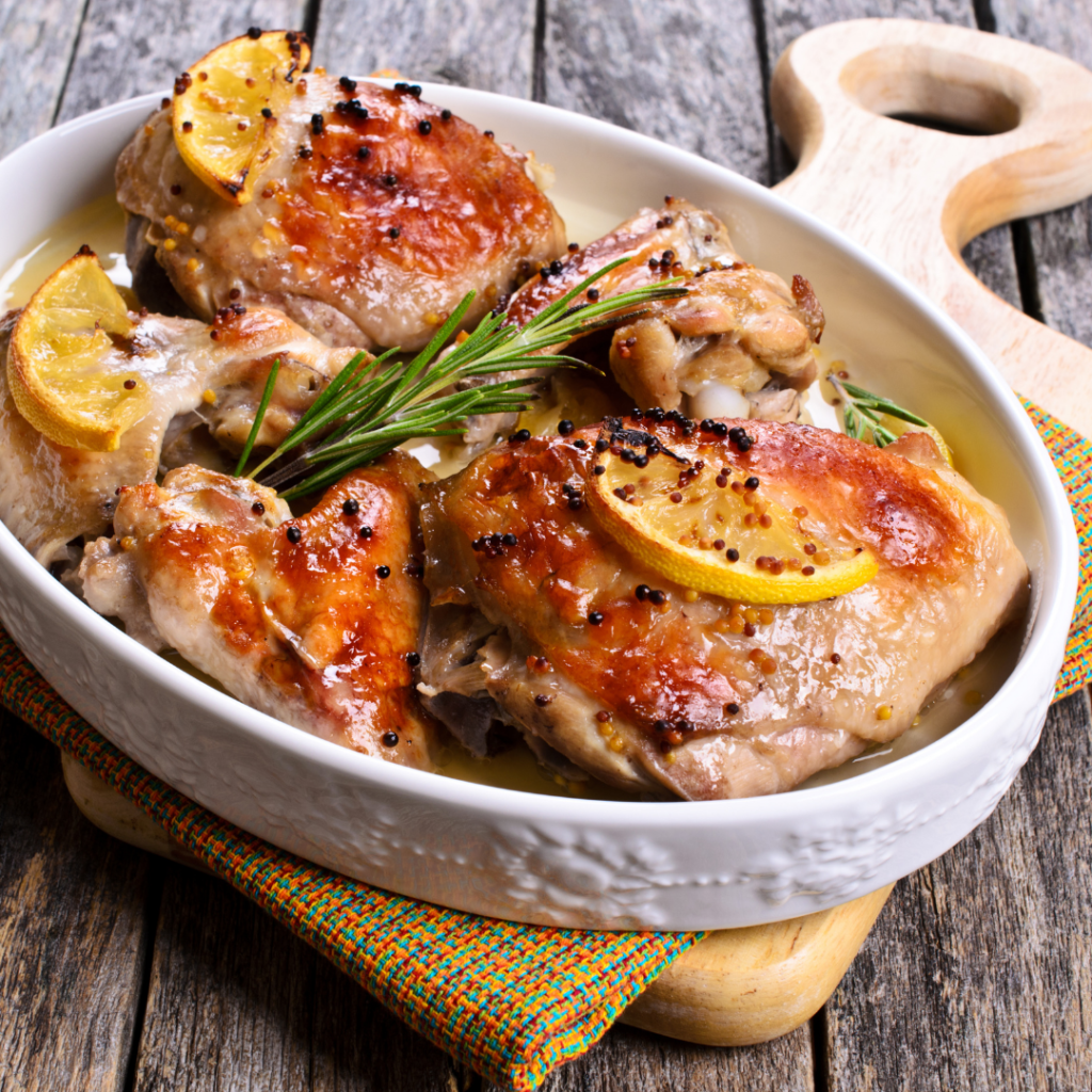 Creamy Honey Mustard Chicken by Tanmia