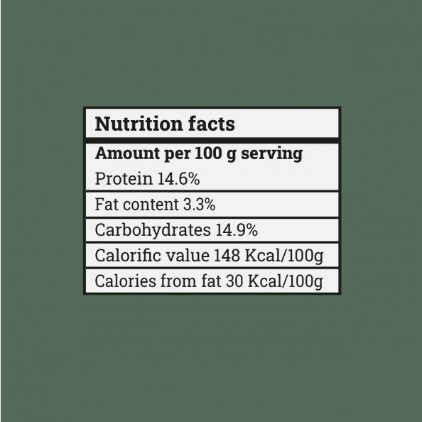chicken crispy mix nutrition fact