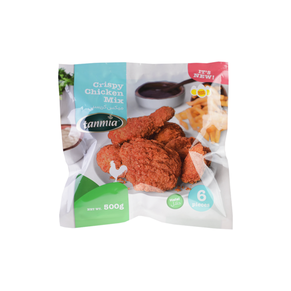 from Tanmia Kitchen Crispy Chicken Mix in packaging